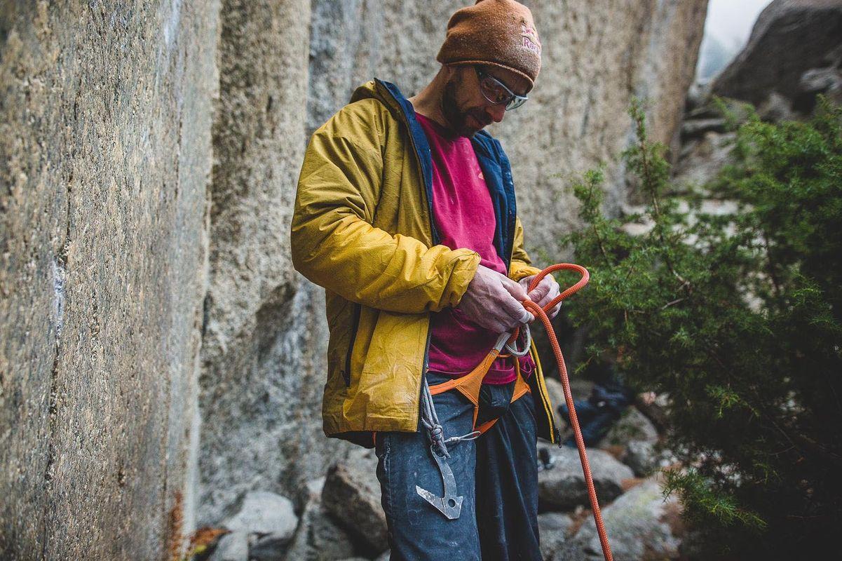 Bernd Zangerl First ascent grenzenlos boulder