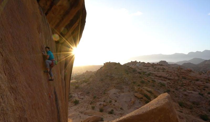 Marokko klettern Sean Villanueva