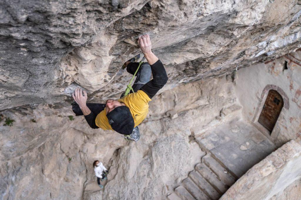 Stefano Ghisolfi klettert Erebor (9b/+)