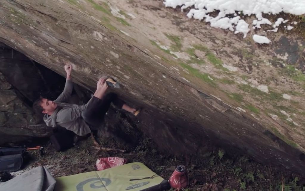 Nicolai Užnik  bouldert 8C