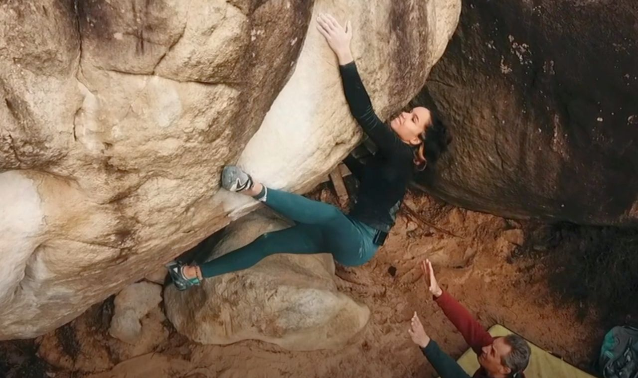 oriane bertone bouldern kletterszene