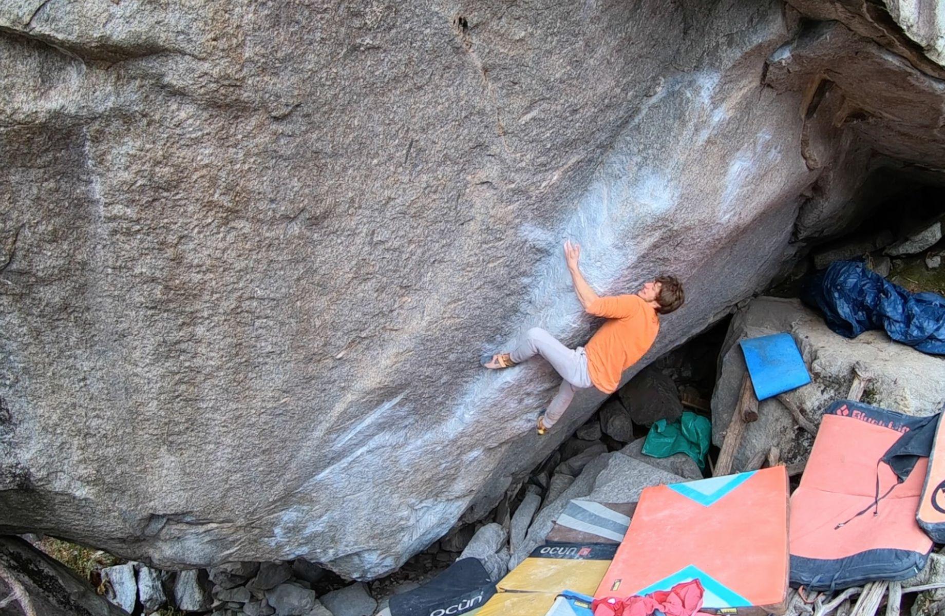 Kim Maraschner Bouldern