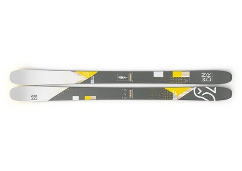 WNDR Alpine Vital 100: Freeride Ski