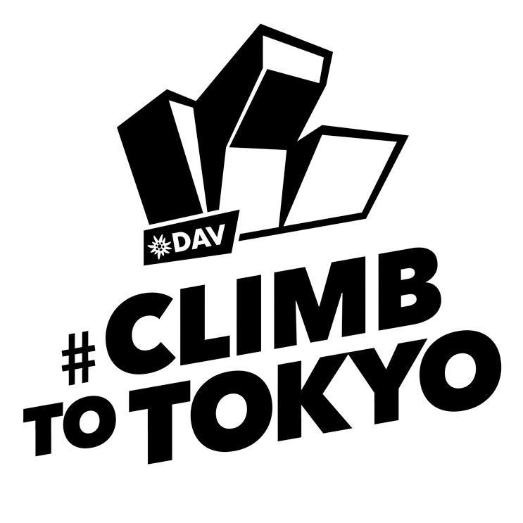 DAV Climbing to Tokyo Logo