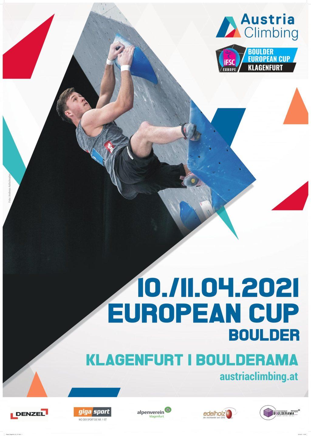 European Cup Klagenfurt Poster