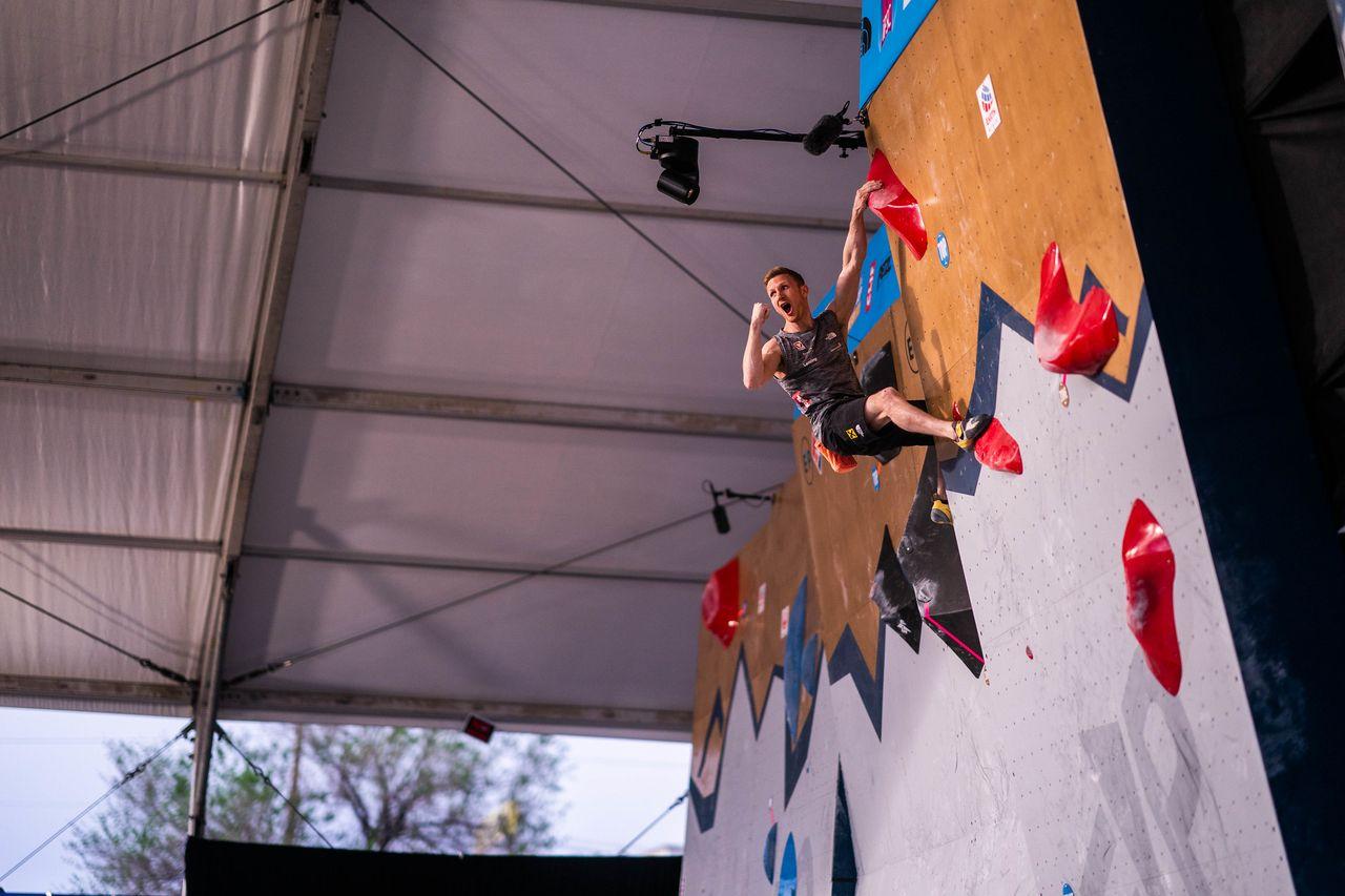 IFSC Boulder Weltcup Jakob Schubert