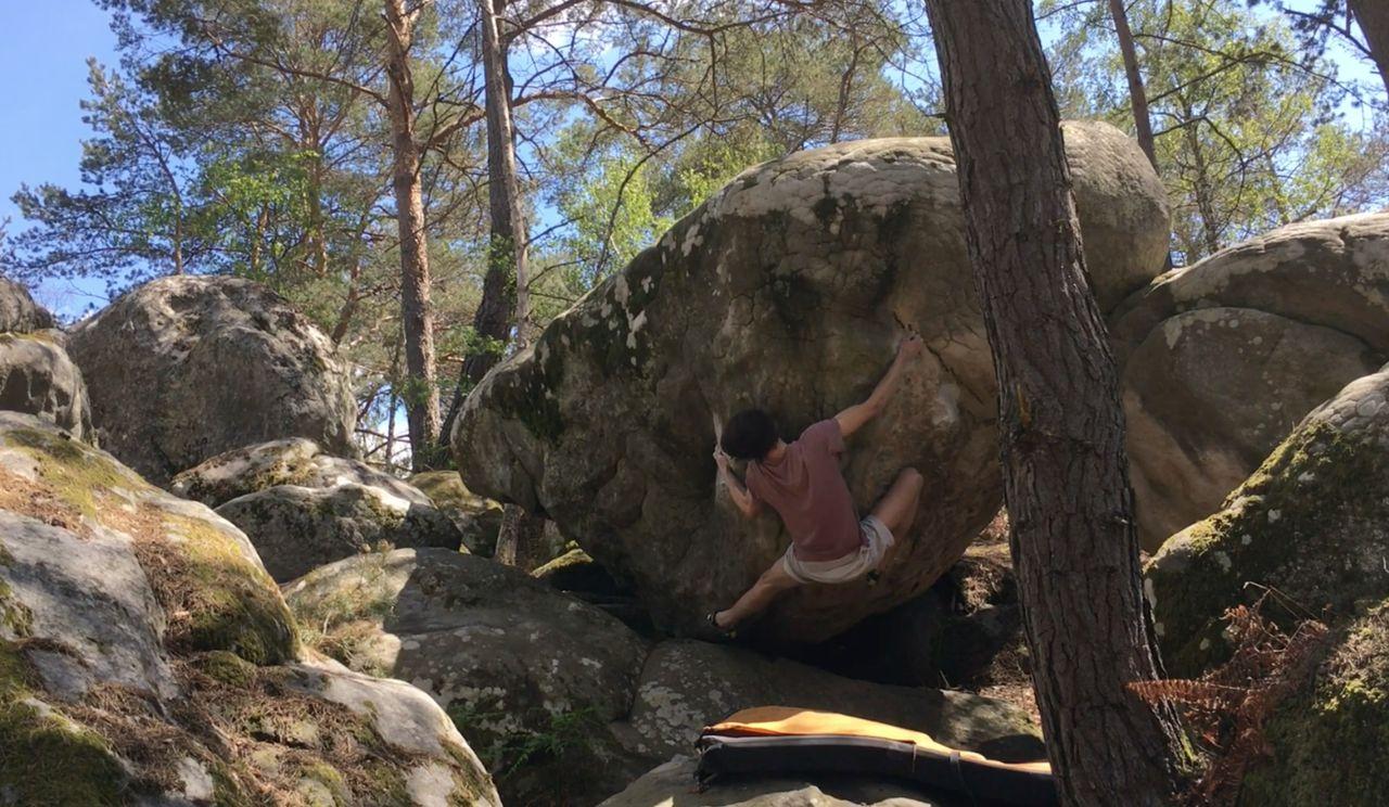 fontainebleau boulder video