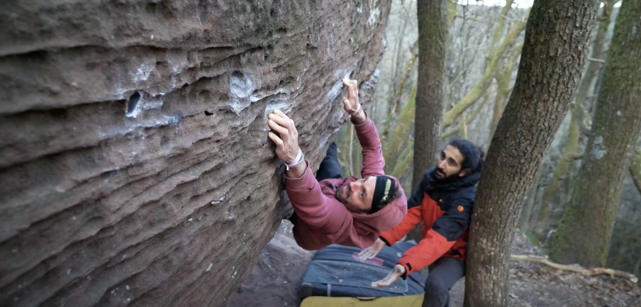 pfalz boulderin kletterszene