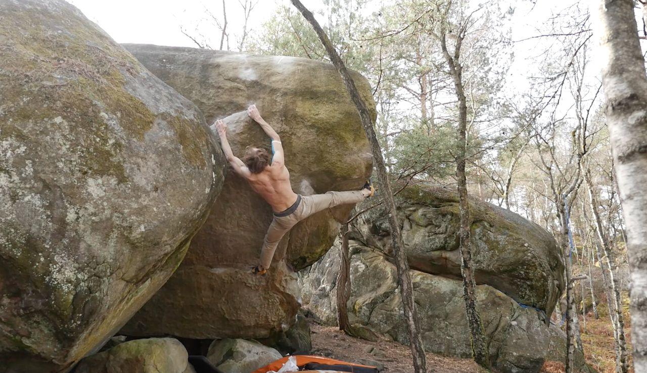 robert leistier bouldervideo fontainebleau