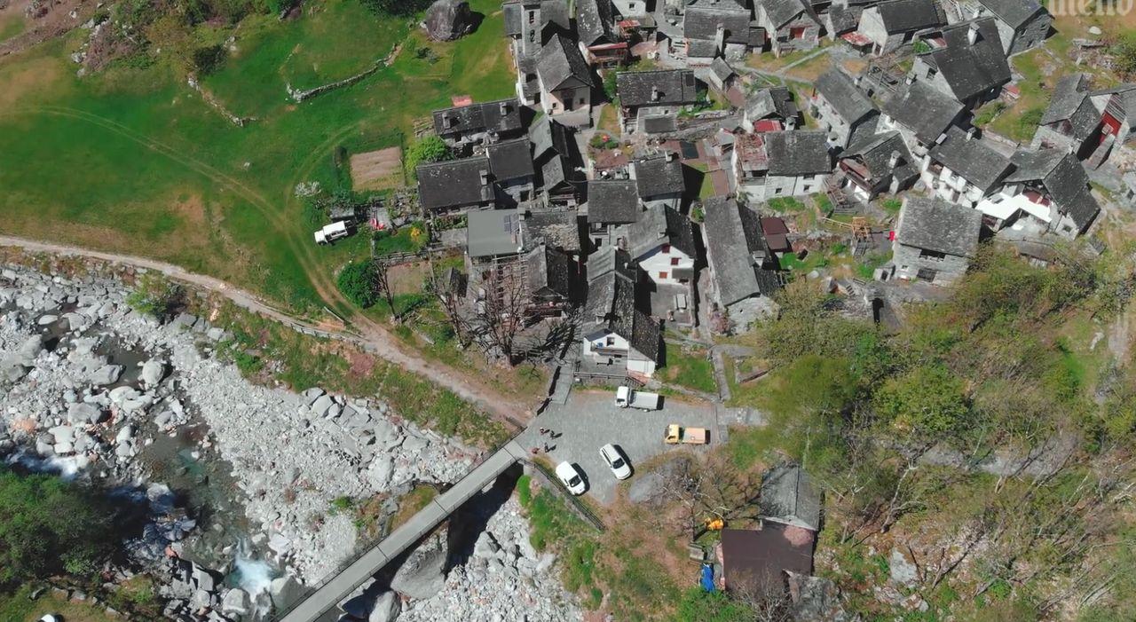 Ticino Landschaft Bouldervideo