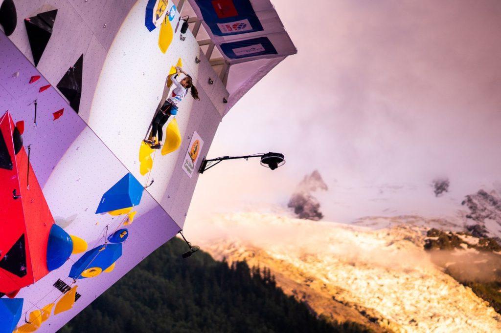 IFSC Lead Worldcup in Chamonix Finale