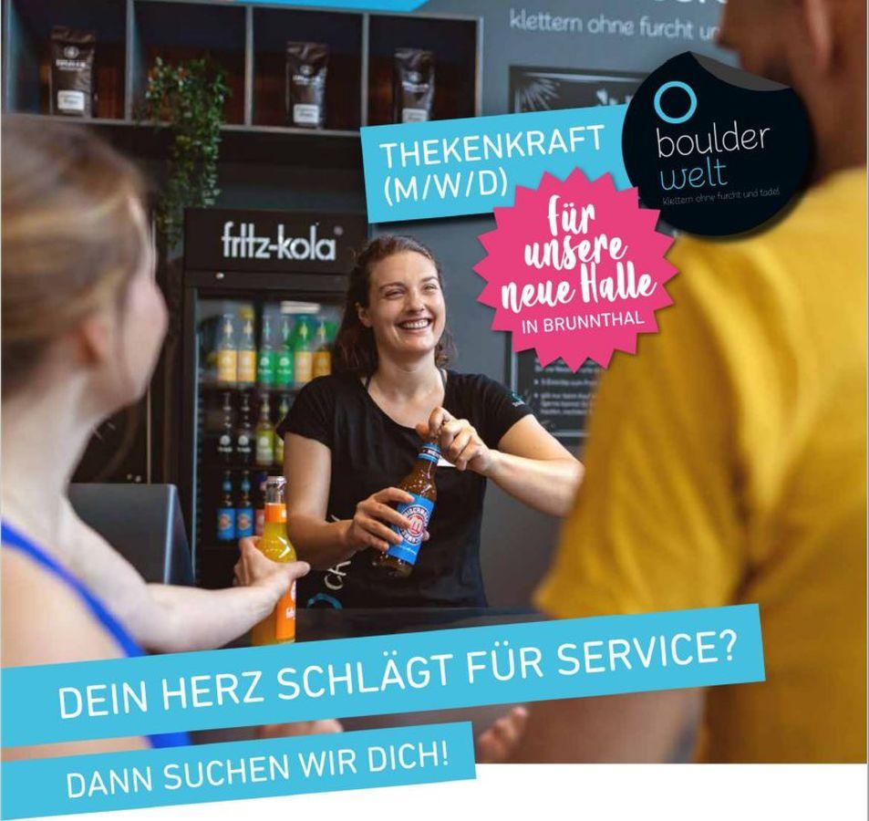Jobs e in der Boulderwelt München