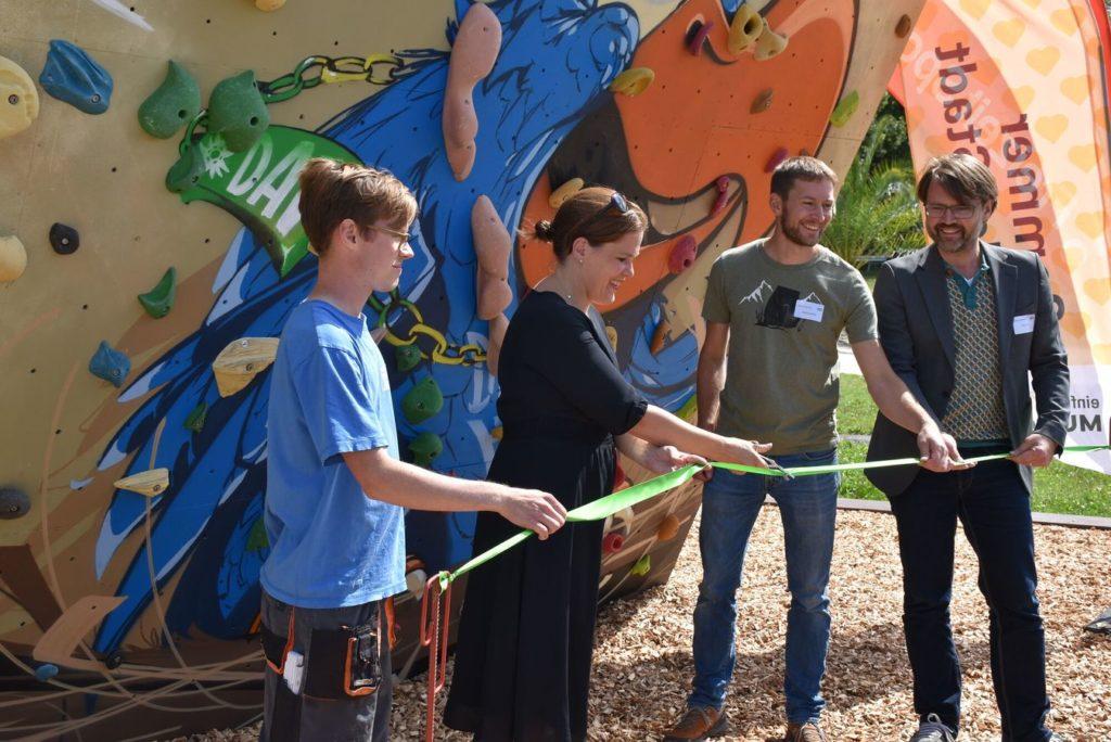Kraxel Kollektiv Bouldern München Theresienwiese