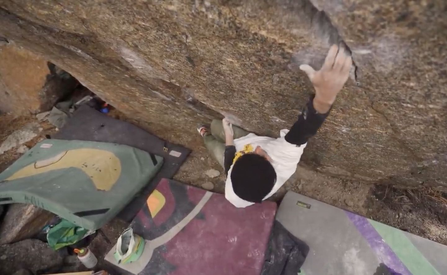 shawn raboutou first Ascent Bouldervideo