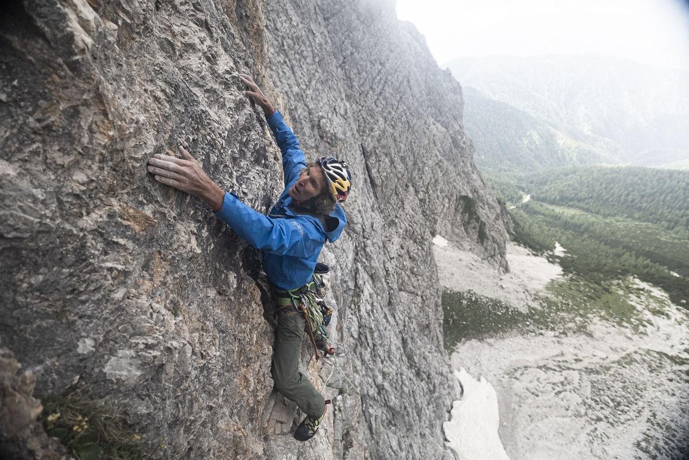 Stefan Głowacz klettert Wallride Expedition