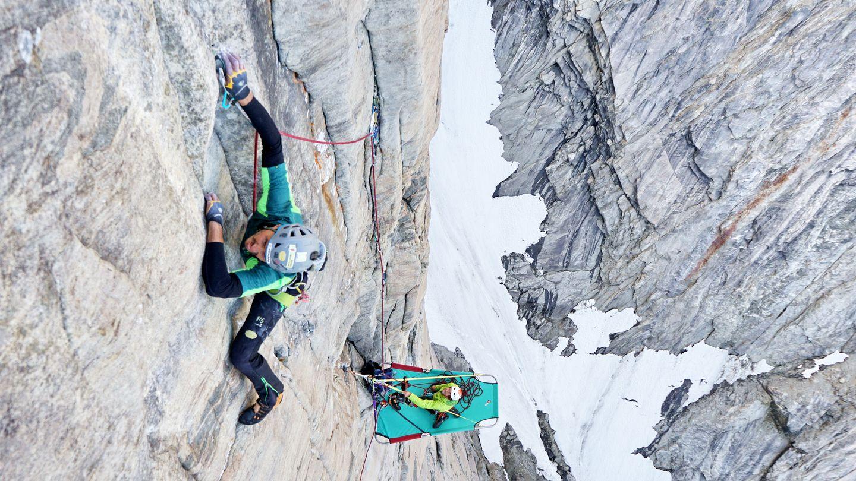 Silvan Schüpbach klettert in Grönland