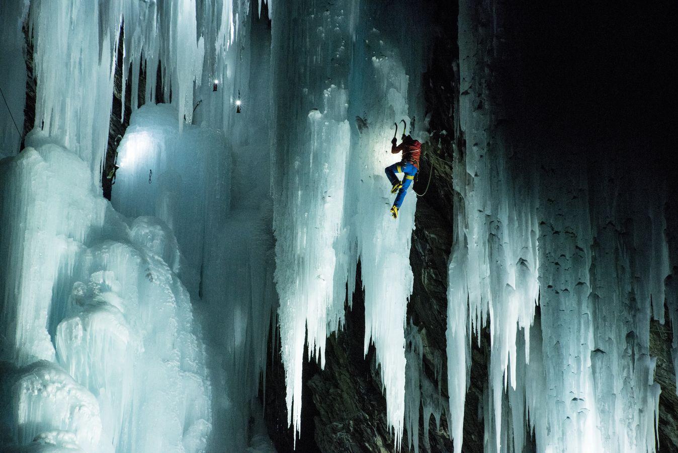 Eisklettern Südtirol