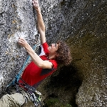 Adam Ondra in Pantera (9a) <br />Photo: Vojtech Vrzba   climb4fun.cz