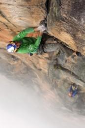 Stefan Glowacz in Venezuela. Erstbegehung von Behind the Rainbow. (c) Klaus Fengler