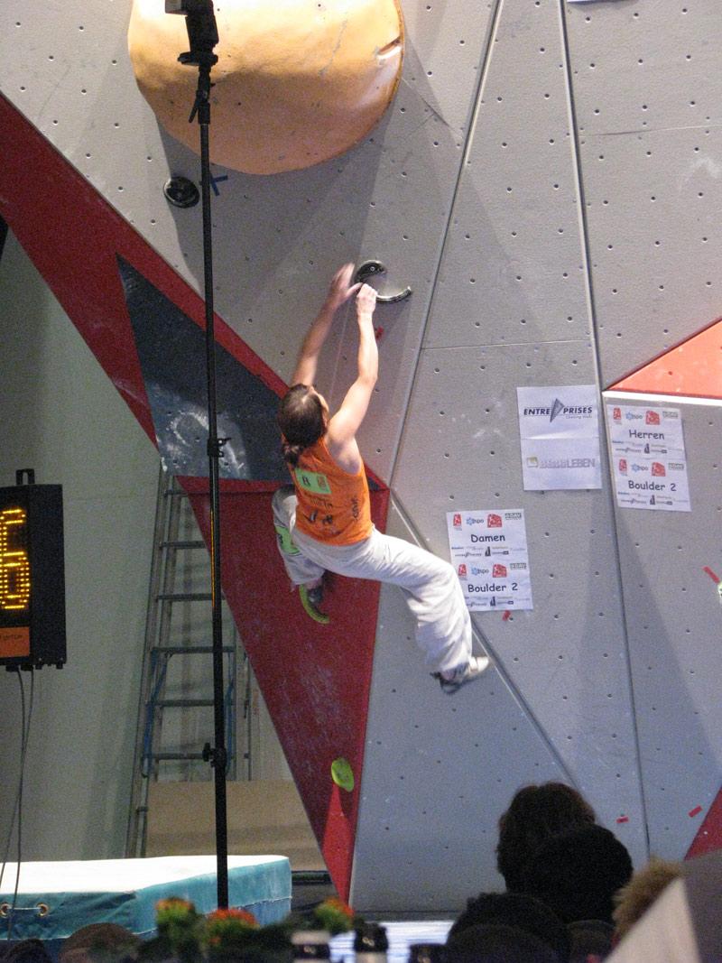 Deutscher Bouldercup 2010 ISPO